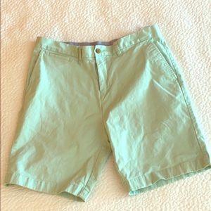 Pale green men's shorts
